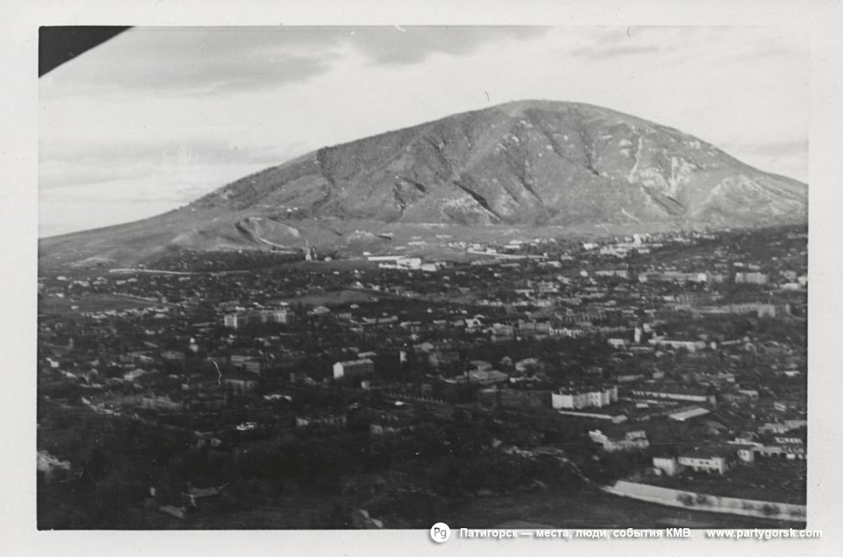 Пятигорск - 1942 год фото с самолета