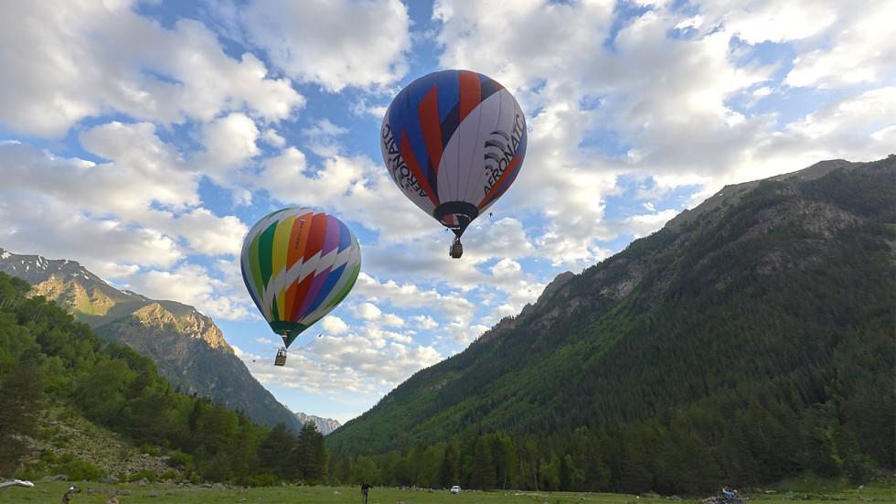 Аэронатс: «С шестикилометровой высоты Эльбрус прекрасен»